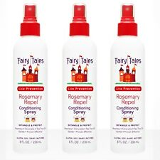 Fairy Tales Rosemary LICE Repel Leave In Conditioning Spray 8 oz (3 pcs)