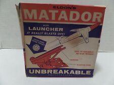 """SUPER RARE "" ELDON MATADOR and LAUNCHER EMPTY BOX"