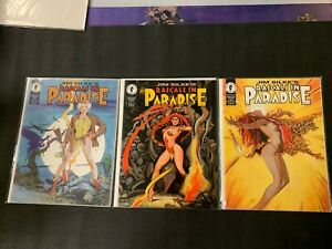Rascals In Paradise 1-3 COMPLETE SET Jim Silke's 1994 Dark Horse Comics NM 9.4