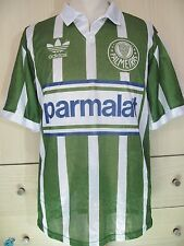 PALMEIRAS BRAZIL 1992 VTG ADIDAS PLAYER CAMISETA JERSEY SOCCER FOOTBALL SHIRT L