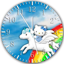 Hello Kitty Frameless Borderless Wall Clock Nice For Gifts or Decor W284