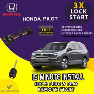 100% Plug & Play Remote Start fits: 2009-2015 Honda Pilot SUV w/ Key Start