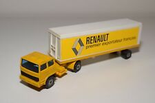 @. SOLIDO RENAULT SAVIEM TRUCK WITH TRAILER EXCELLENT CONDITION