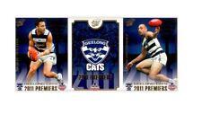 2011 AFL SELECT GEELONG CATS PREMIERSHIP PREMIERS BOX SET 23 CARDS