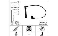 NGK Juego de cables encendido VOLKSWAGEN PASSAT AUDI A6 A4 A8 SKODA SUPERB 0518