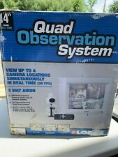 "Lorex SG14Q5041-A 14"" Quad Observation System NEW"