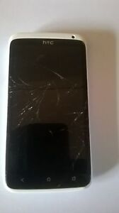 HTC One X - 16GB - White (Unlocked) Smartphone for parts / repair