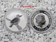 *** AUSTRALIEN 1 Dollar $ 2010 Kookaburra 1 OZ Silber 1 Unze Australia Coin ***
