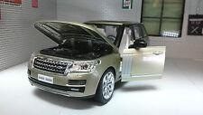 1:24 26 Range Rover L405 TD6/4.4 V8 HSE Champagne Gold MSZ Diecast Model Lights