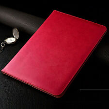 Genuine Leather Slim Tablet Protective Case Cover For iPad Air Mini iPad Pro