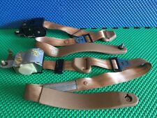 1994 FORD LINCOLN TOWN CAR RETRACTOR SEAT BELT LEFT & RIGHT SIDE TAN COLOR