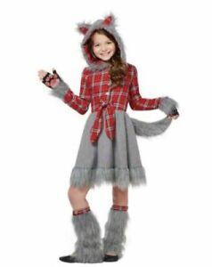 Spirit Charming Wolf Kids Costume Size L 12-14  ADORABLE