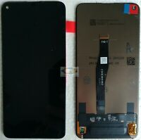 DISPLAY LCD +TOUCH SCREEN per HUAWEI NOVA 5T YAL-L21 NERO VETRO SCHERMO ORIGINAL
