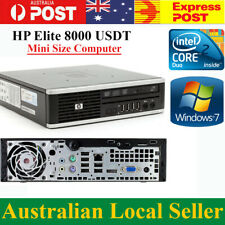 HP Elite 8000 USDT Mini PC E8400 3.0GHz GB 160GBHDD  Windows 7 Pro Computer
