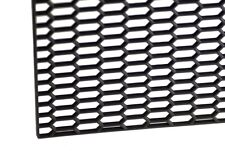"""16"""" X 47"""" UNIVERSAL BLACK THICK ABS HONEYCOMB MESH for CUSTOM GRILLE or BUMPER"""