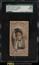 1880 N342 Thos H Hall Actors & Actresses Alice Lingard SGC 2 GD