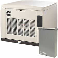 Cummins RS20AC - 20kW Quiet Connect Series Home Standby Generator System (200...