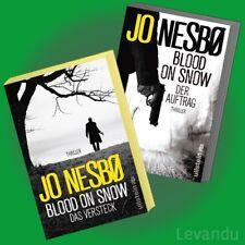 BLOOD ON SNOW | JO NESBO | Der Auftrag + Das Versteck - Thriller-Band 1+2