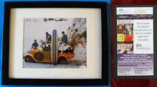 BRIAN WILSON SIGNED w/ JSA CERT - Autographed & Framed 8x10 Photo Beach Boys 1