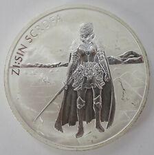 SOUTH KOREA 1 CLAY 2019 ( Zi:Sin SCROFA ) 1oz SILVER Coin ( Ag 999/1000 ) UNC Z9