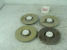 "90 INFINITI Q45 15"" WHEEL RIM CENTER HUB CAP COVER SET FADED CHIPPED PAINT OEM"