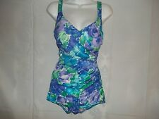 Ladies Size 14 / 36 C Roxanne Vintage Tummy Control Bathing suit Swimwear