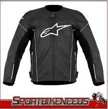 Alpinestars TZ-1 TZ 1 Reload Jacket Leather Size 58 European NEW White Black