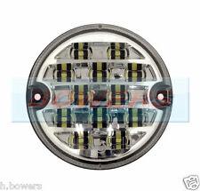 12V/24V 95MM LED FRONT SIDE LIGHT LAMP UPGRADE LAND ROVER DEFENDER NAS RDX WIPAC