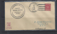 #680, cachet with Waterville, OH cancel, first day cover, NJ address