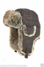 Bonnets marrons en laine mélangée pour femme