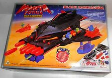 "Vintage 1980's Bluebird Toys - Manta Force ~ BLACK BARRACUDA ~ ""Karnoids"" (D12)"