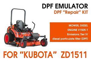 """DPF repair kit for """"Kubota"""" mower ZD1511"""