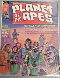 PLANET OF THE APES MAGAZINE LOT OF 5 BOOKS CURTIS MAGAZINE