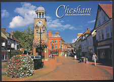 Buckinghamshire Postcard - Chesham Clock Tower and Market Square   U1560