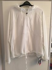 Ladies Fitness Gym hoodie Performance Marks & Spencer Collection Soft White