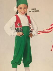 Dance Costume munchkin elf christmas magician Small  Child  Pageant Art Stone