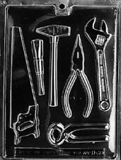 D066 Tool Assortment Chocolate Candy Mold w/instructions