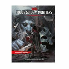 Dungeons & Dragons VOLO'S GUIDE TO MONSTERS Wizards of the Coast 5E HARDCOVER
