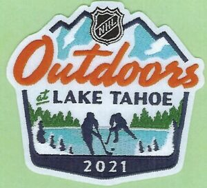 2021 NHL LAKE TAHOE OUTDOORS OFFICIAL VEGAS GOLDEN KNIGHTS JERSEY PATCH