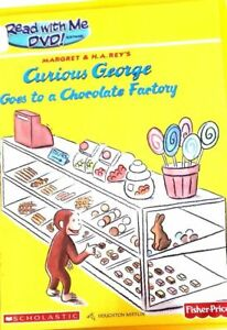 Read With Me Curious George Goes to a Chocolate Factory DVD (AMAZING DVD IN PERF