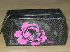 NEW FEARNE LEOPARD BEETLE BUG FLOWER ROSE TRAVEL MAKEUP COSMETIC PURSE BAG POUCH
