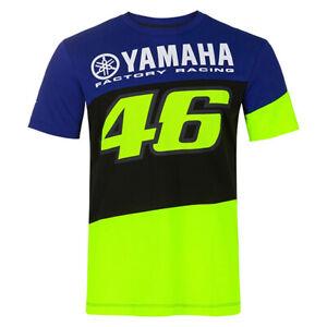 Valentino ROSSI VR46 2020 Moto GP Short Sleeve Yamaha T Shirt - Mens