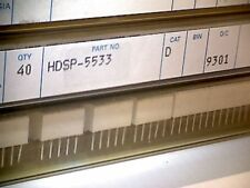 HDSP-5533  LED  7-segment display  HP  (Agilent)  red