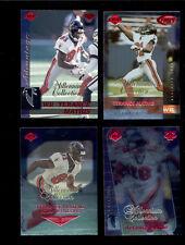 1999 Collectors Edge TERANCE MATHIS Atlanta Falcons MILLENNIUM Card Lot
