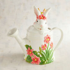 Bunny Garden Easter Spring Pitcher Watering Can New! Pier 1