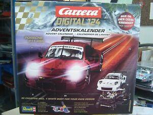 "Carrera Digital124 20023923 Adventskalender Porsche 911 RSR ""Neu""(AND)"