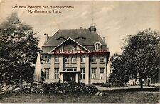 Vor 1914 Normalformat Ansichtskarten mit Eisenbahn & Bahnhof für Architektur/Bauwerk