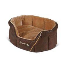 Couchage, paniers et corbeilles marrons pour chiens petits