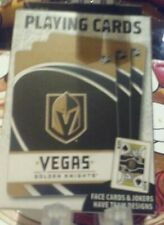 NEW VEGAGS GOLDEN KNIGHTS PLAYING CARDS