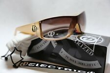 NEW Electric Generator Champagne Brown Gradient Womens Italian Sunglasses Rt$120